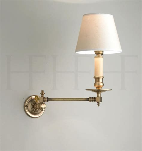 wall mounted swing arm l swing arm light wall mount l design adjustable image of