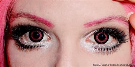 pink colored contacts korean big eye circle lenses korean skin care makeup