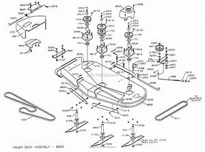 Dixon Ztr 5020  1998  Parts Diagram For Mower Deck 50 U0026quot