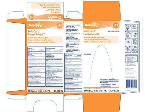 Soft Care Foam Select Antibacterial Hand (diversey, Inc