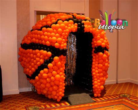 san diego sports theme decor  balloon utopia