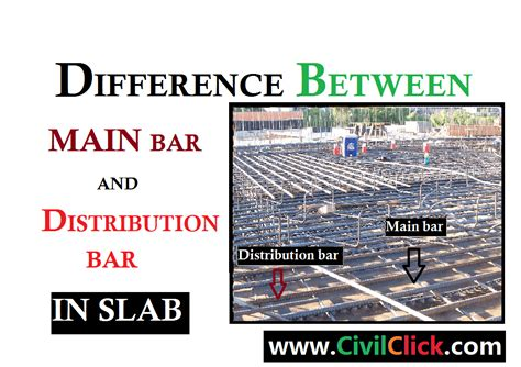 Difference Between Bar And Bar by Difference Between Bar And Distribution Bar In Slab