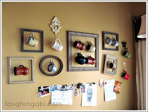 kitchen decor collections coffee cup gallery wall displaying collections display
