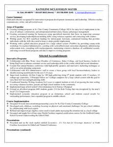 higher ed resume sle sle resume higher education administration augustais