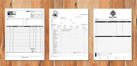 Triplicate Form Template by Custom Carbonless Forms Carbonless
