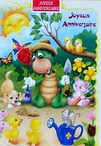 Carte Anniversaire Pour Enfant : carte anniversaire enfant ~ Melissatoandfro.com Idées de Décoration
