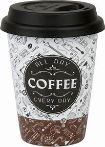 Coffee To Go Becher Porzellan : coffee to go becher aus porzellan gwi ~ Watch28wear.com Haus und Dekorationen
