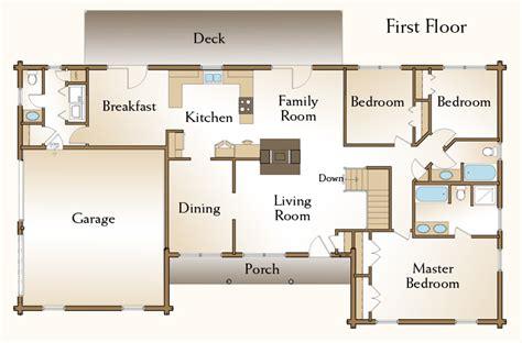 log home floor plans with garage brewster log home floor plan floor floor plans