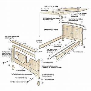 Bed Frame Woodworking Plans With Simple Image In Uk