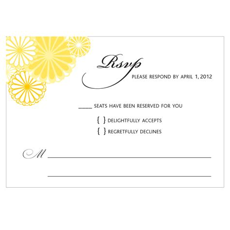 rsvp cards for weddings wording wedding response card wording card design ideas