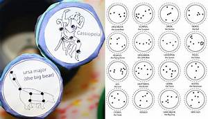 Free coloring pages of constellations for kids