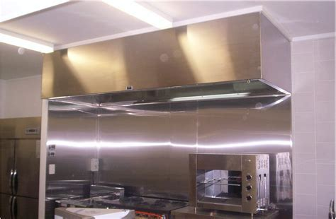 Commercial Kitchen Exhaust   Range Hoods   A1 Custom   A1