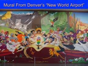 Denver International Airport Murals Removed by Denver Airport Murals Explained By Dr Leonard Horowitz