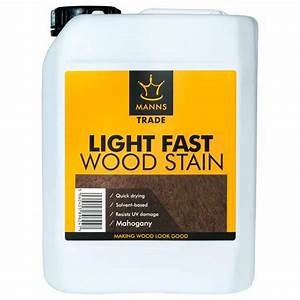Manns Trade Light Fast Wood Stain