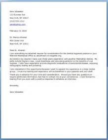 dental assistant resume cover letter exles dental assistant resume cover letter