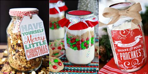 34 mason jar christmas food gifts recipes for gifts in a
