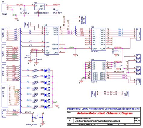 Arduino Uno Circuit Diagram Pdf by Arduino Motor Shield Embedded System Laboratory