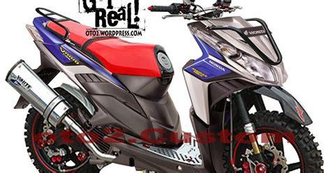 Gambar Modipikasi Beat Motor 2016 by Motor Rakitan Modifikasi Beat Injeksi Orange