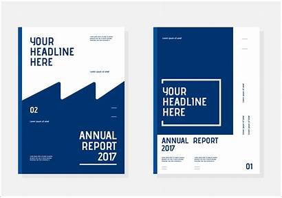 Report Annual Vector Template Templates Document Designs