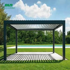 Aluminium Pavillon Mit Doppelstegplatten : au en aluminium pergola pavillon mit verstellbare dach lamellen buy product on ~ Whattoseeinmadrid.com Haus und Dekorationen
