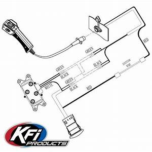 Kfi Utv Utv Dash Mounted Rocker Switch Kit