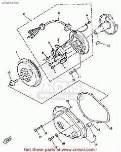 Yamaha Wrb650r 1993 Fn8 Waverunner Generator