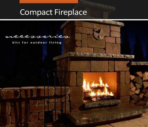 unilock fireplace kits outdoor kits outdoor living niemeyer s landscape