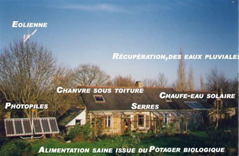 eco hameau du ruisseau et la maison autonome habitat participatif