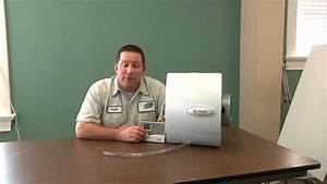 How To Change Your Aprilaire Humidifier Water Panel And