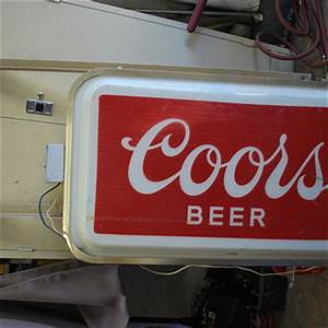 Show & Tell Vintage Beer Signs