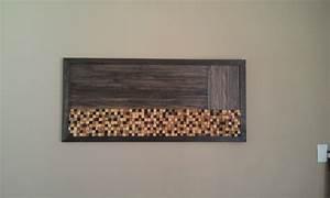 Wall art ideas design rustic wooden modern
