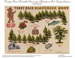 Teddy Bear Hund : bnute productions free printable teddy bear scavenger ~ A.2002-acura-tl-radio.info Haus und Dekorationen