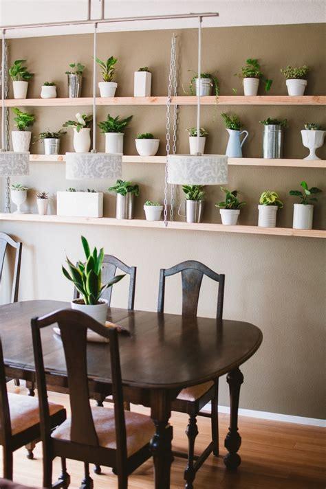 diy hanging plant shelves sara adams photography