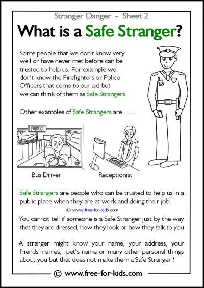 free for kids stranger safety google search safety