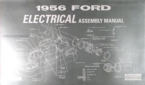 Ford Car Electrical Assembly Manual Wiring