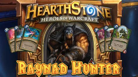 Hearthstone Deck Spotlight Reynad Hunter Youtube
