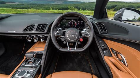audi r8 interior audi r8 spyder v10 plus 2017 review car magazine