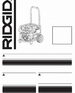Download Ridgid Portable Generator Rd8000 Manual And User