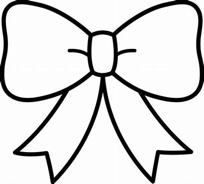 Coloring Pages Bow Clipart Candy Printable Cane