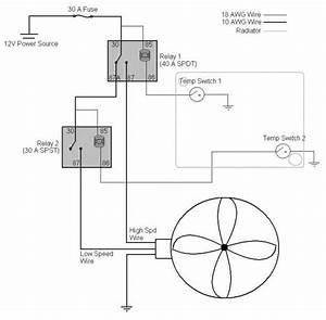 Car Electric Fan Wiring Diagram