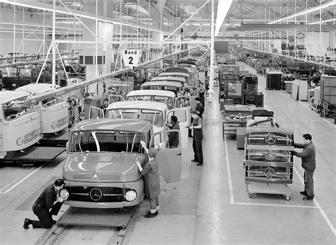 mercedes factory largest truck factory in the world celebrates 50 years