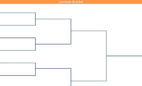 blank bracket template 2016 printable blank pdf ncaa lacrosse bracket printable lacrosse bracket
