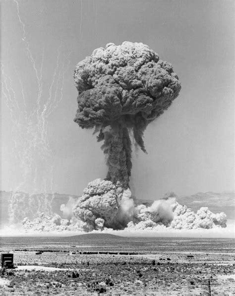 atomic mushroom cloud photo