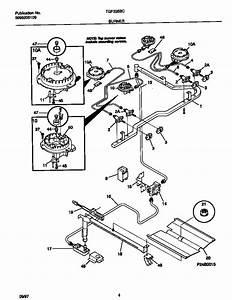 Tappan Tgf335bcwe Gas Range Parts