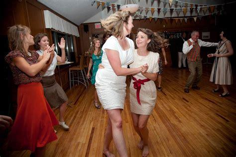 destination retro lesbian wedding alexa clarke kent