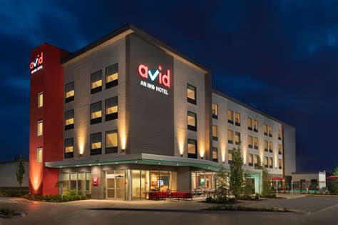 ihg opens first avid hotel hospitality