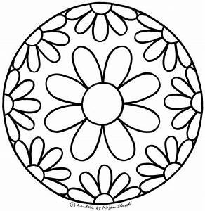 Blumen Mandala Fr Kindergartenkinder MandalaMalspiel