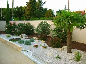 exemple de jardin paysager With exemple d amenagement de jardin