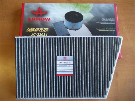 Mercedes Benz High Quality Cabin Air Filter Charcoal 203