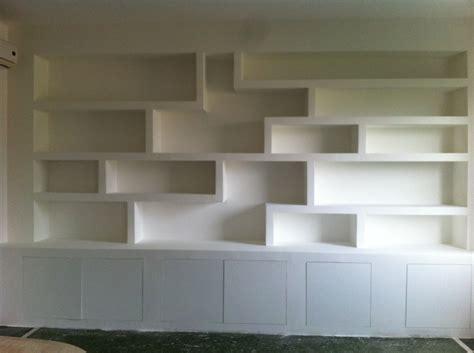 libreria in gesso libreria in cartongesso idee ristrutturazione casa